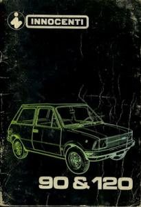 Innocenti 90 120 Bedienungsanleitung 10.1978