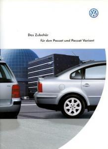 VW Passat B 5 / Variant Zubehör Prospekt 6.1997