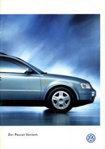 VW Passat B 5 Variant Prospekt 10.1997