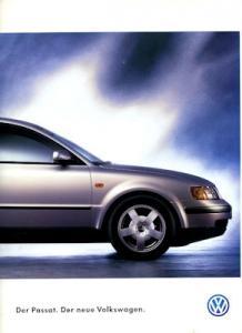 VW Passat B 5 Prospekt 8.1996