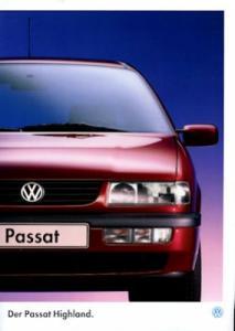 VW Passat B 4 Highland Prospekt 4.1995
