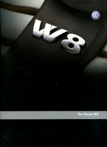 VW Passat B 5 W 8 Prospekt 4.2002