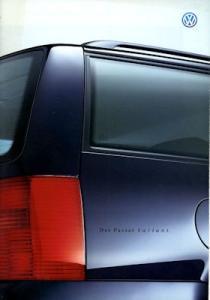 VW Passat B 5 Variant Prospekt 4.2000