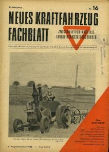 Das Kraftfahrzeug Fachblatt 1948 Heft 16