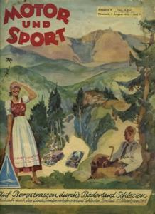 Motor & Sport 1938 Heft 32