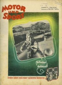 Motor & Sport 1938 Heft 20