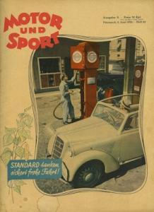Motor & Sport 1938 Heft 23