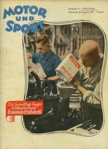 Motor & Sport 1938 Heft 35