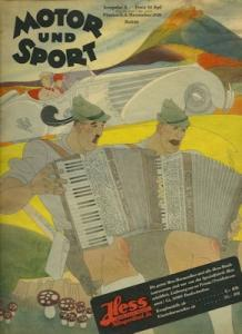 Motor & Sport 1938 Heft 45