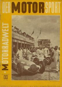 Der Motorsport + Motorradwelt 1949 Heft 11