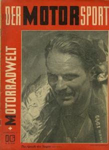 Der Motorsport + Motorradwelt 1949 Heft 16