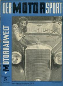 Der Motorsport + Motorradwelt 1950 Heft 2
