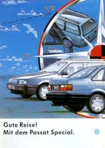 VW Passat B 3 Special Prospekt 8.1992