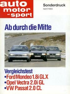 VW Passat B 3 Test 1993
