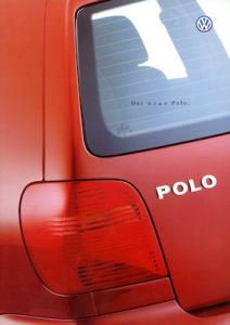 VW Polo 3 Prospekt 10.1999