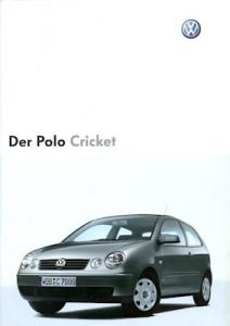 VW Polo 4 Cricket Prospekt 12.2003