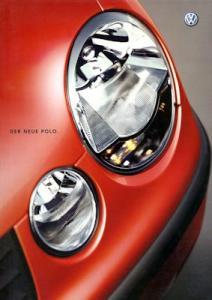 VW Polo 4 Prospekt 10.2001
