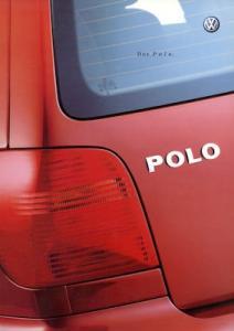 VW Polo 3 Prospekt 4.2001