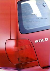VW Polo 3 Preisliste 7.2000