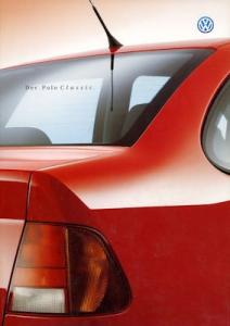 VW Polo 3 Classic Prospekt 9.1999