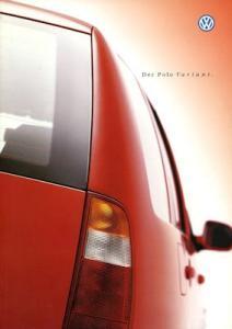 VW Polo 3 Variant Prospekt 4.2000