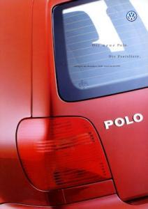 VW Polo 3 Preisliste 9.1999