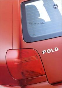 VW Polo 3 Prospekt 9.1999