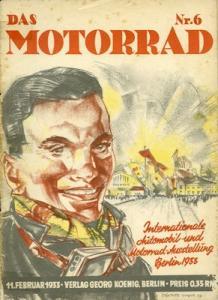 Das Motorrad 1933 Heft 6