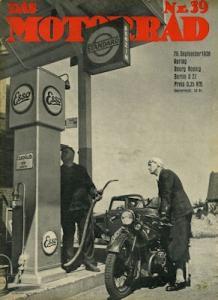 Das Motorrad 1936 Heft 39
