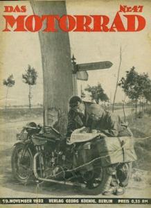 Das Motorrad 1932 Heft 47