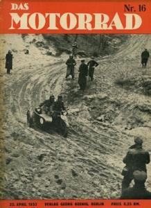 Das Motorrad 1933 Heft 16