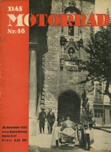 Das Motorrad 1932 Heft 48