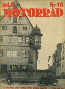 Das Motorrad 1933 Heft 46