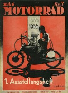 Das Motorrad 1935 Heft 7