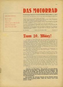 Das Motorrad 1936 Heft 13