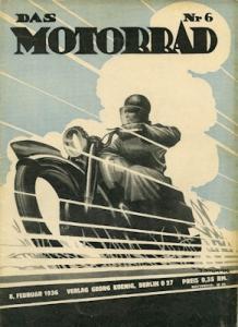 Das Motorrad 1936 Heft 6