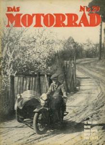 Das Motorrad 1935 Heft 20