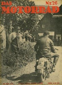 Das Motorrad 1933 Heft 26