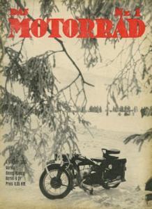 Das Motorrad 1935 Heft 1