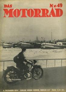 Das Motorrad 1934 Heft 49