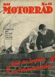 Das Motorrad 1935 Heft 46