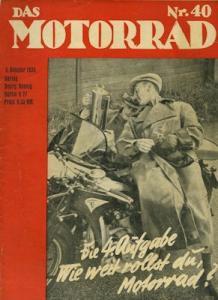 Das Motorrad 1935 Heft 40