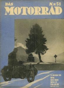 Das Motorrad 1935 Heft 51