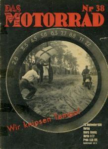 Das Motorrad 1936 Heft 38