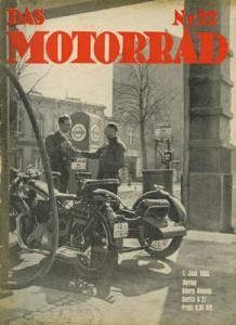 Das Motorrad 1935 Heft 22