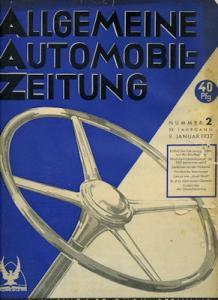Allgemeine Automobil Zeitung (AAZ) 1937 Heft 2
