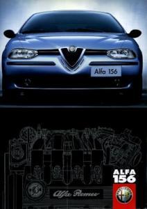 Alfa-Romeo 156 Prospekt 9.1997