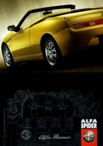 Alfa-Romeo Spider Preisliste 5.1998