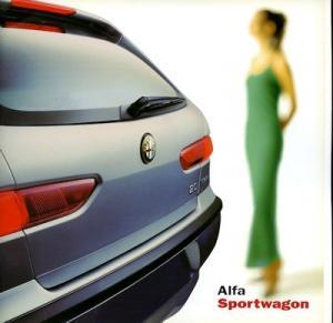 Alfa-Romeo Sportwagon Prospekt 4.2000