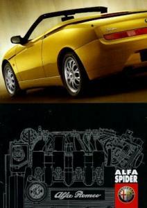 Alfa-Romeo Spider Preisliste 3.1999